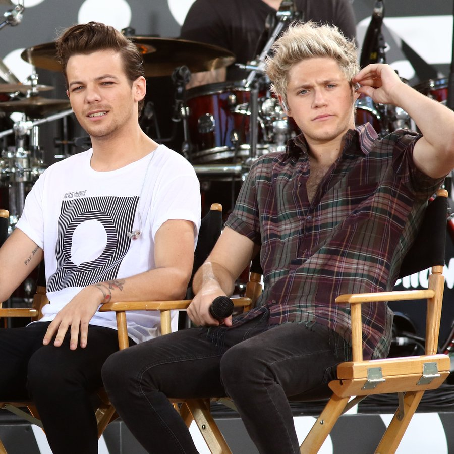 Liam Payne, Louis Tomlinson and Niall Horan