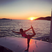 Image 10: Nicole Scherzinger does yoga on board luxury yacht