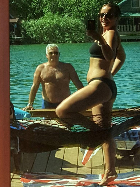 Rita Ora's Mum, Vera Ora shows off her curves in b