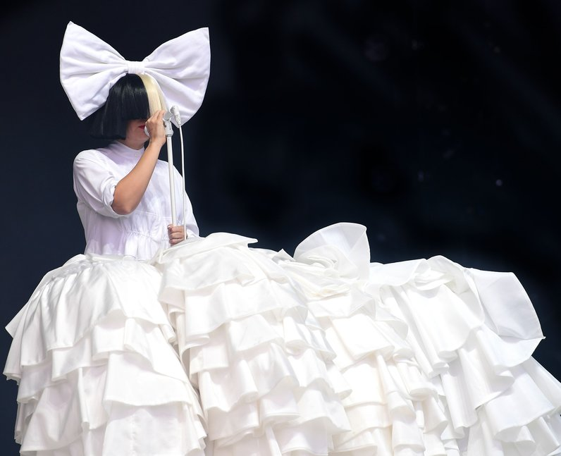Sia's vocals were absolutely flawless at the opening night
