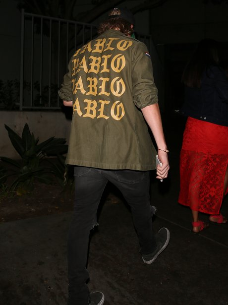 Brooklyn Beckham wears Pablo jacket