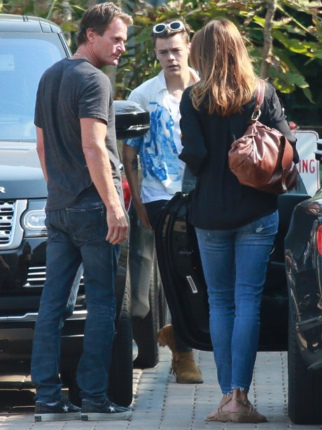Harry Styles out with Cindy Crawford
