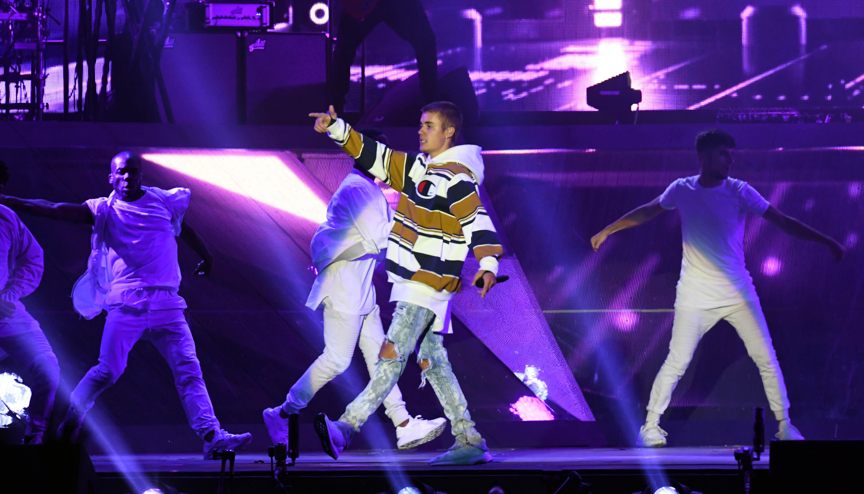 Justin Bieber at V Festival 2016