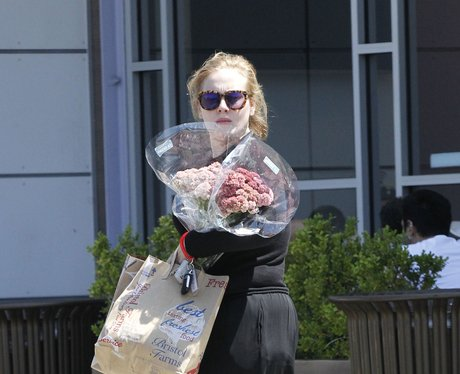 Adele shopping