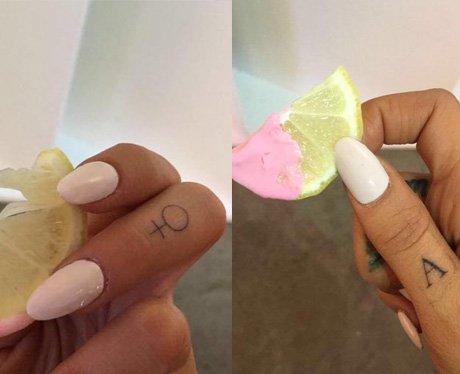 Ariana Grande gets new tattoos