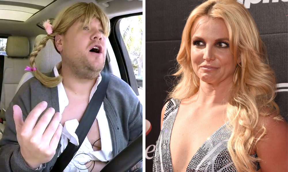 Britney Spears' Awkward Carpool Karaoke
