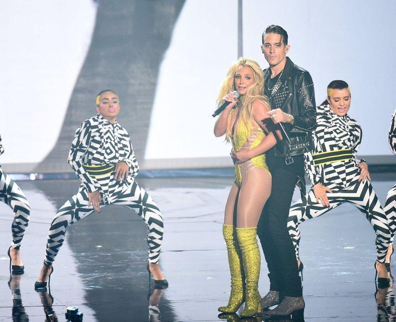Britney Spears G.Eazy MTV VMAs 2016