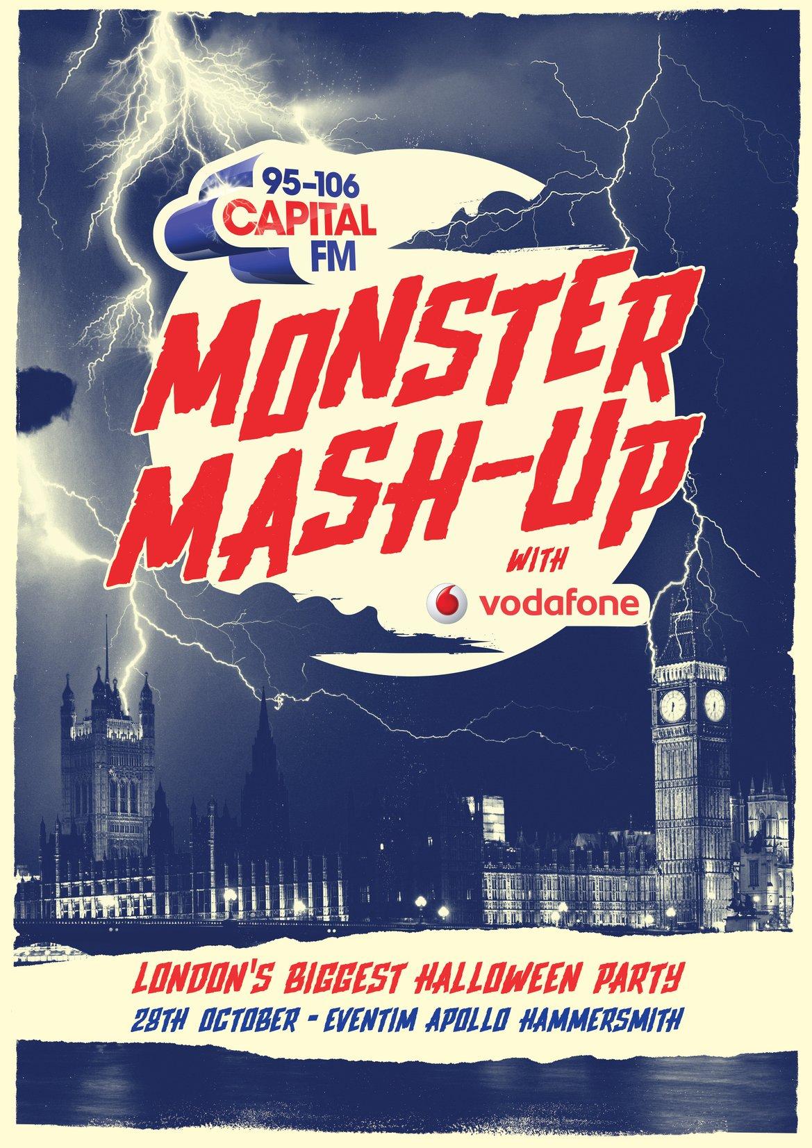 Capital's Monster Mash Up London