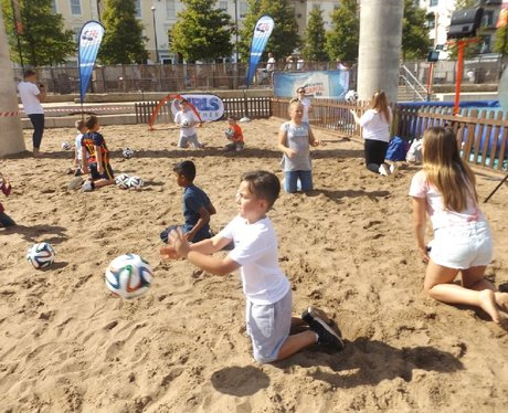 Cardiff Bay Beach FAW Trust activity