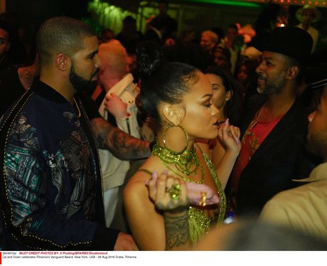 Drake and Rihanna aftershow party