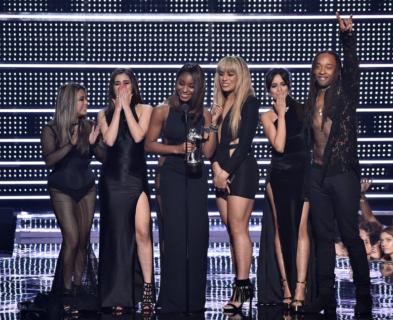 Fifth Harmony Accept Award For Best Collaboration Alongside Ty Dolla