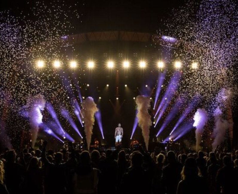 Jason Derulo Fusion Festival 2016