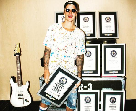 Justin Bieber Guinness World Records