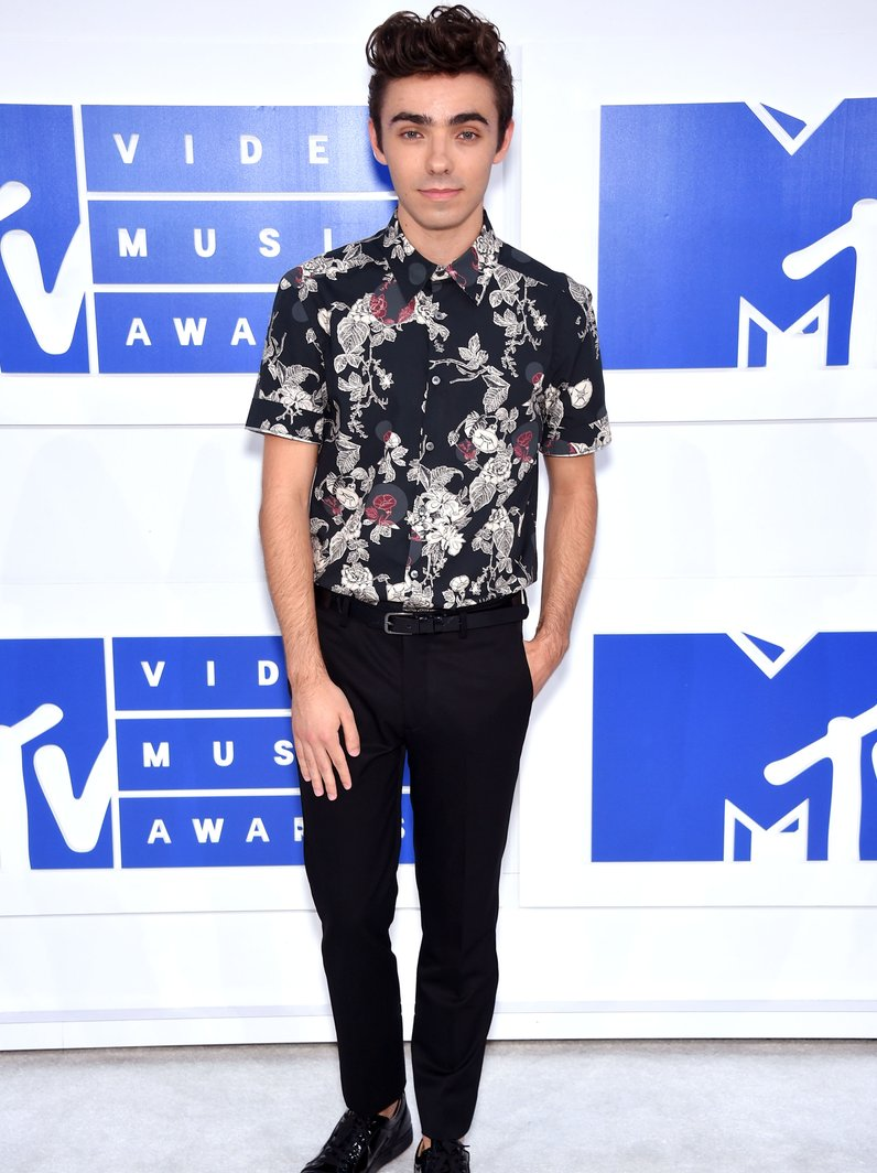 Nathan Sykes MTV VMAs 2016 Red Carpet