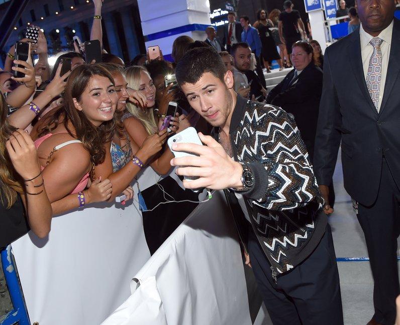 Nick Jonas MTV VMAs Red Carpet Arrivals 2016