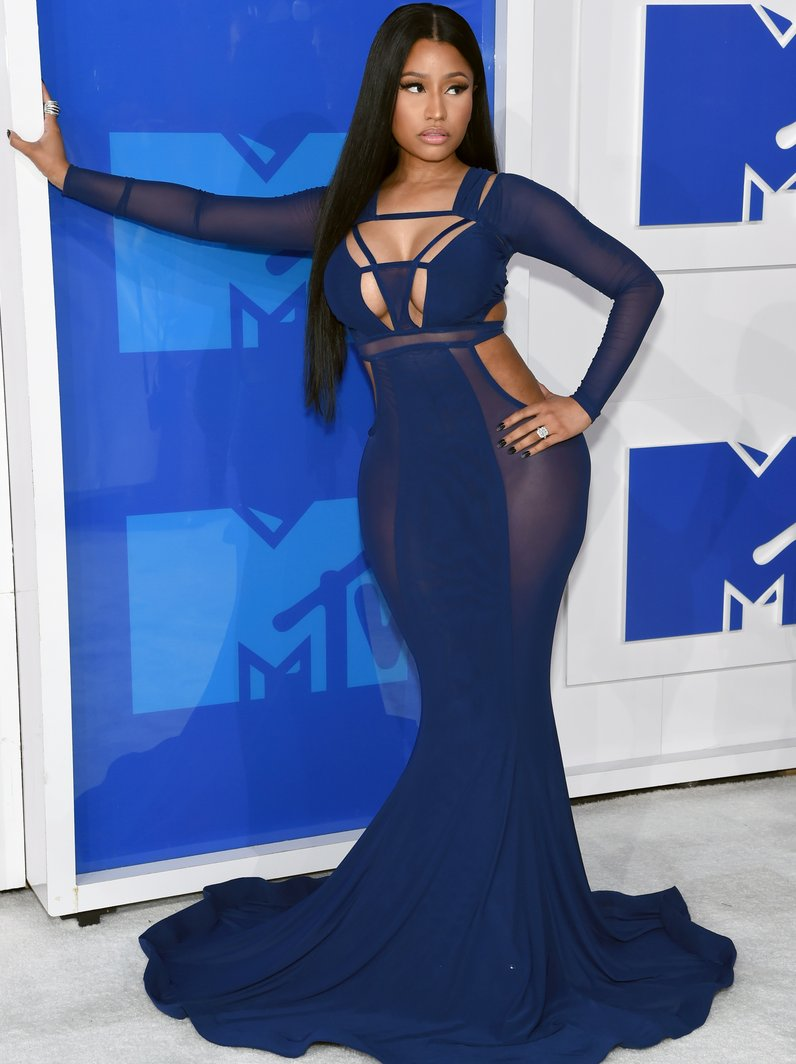 Nicki Minaj MTV VMAs Red Carpet 2016