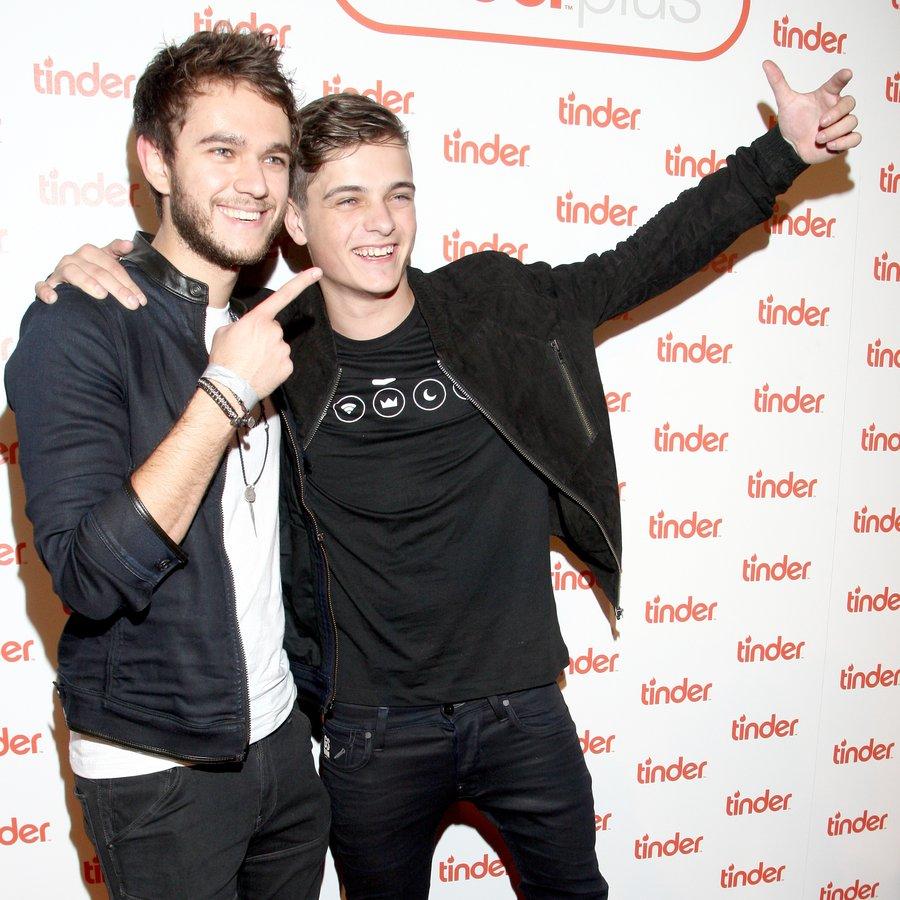 Tinder Plus Launch Party Martin Garrix And ZEDD