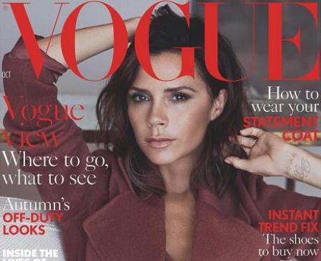 Victoria Beckham on Vogue Maagzine