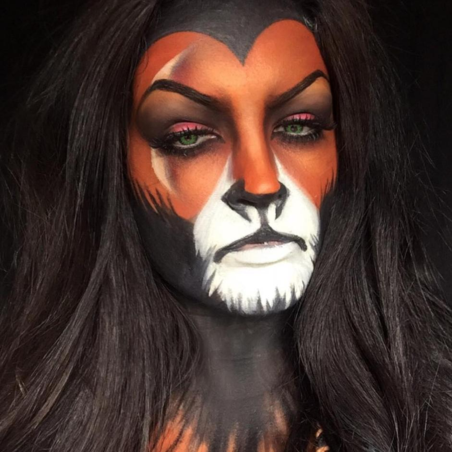 Lion King Halloween Make-Up