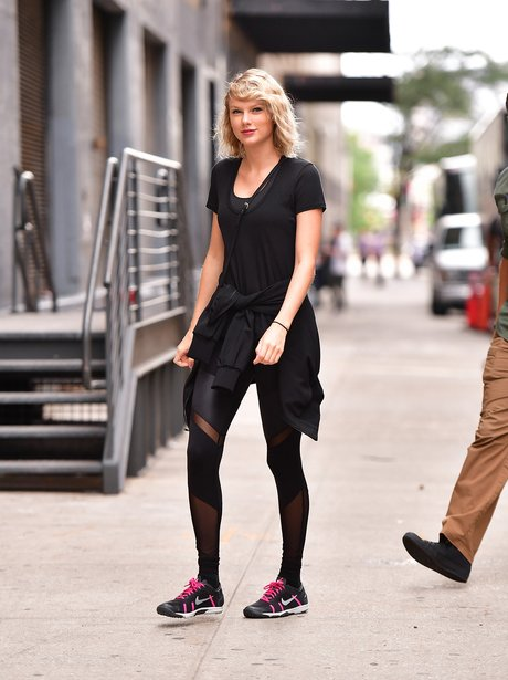 Taylor Swift heading to the gym after break up