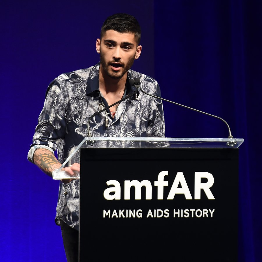 ZAYN Malik 7th Annual amfAR Inspiration Gala New York