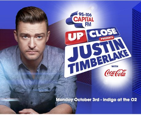 Justin Timberlake Up Close reveal