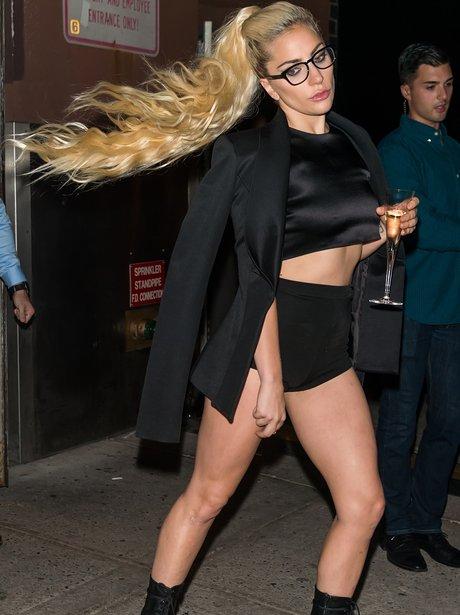 Lady Gaga owns it during New York Fashion Week