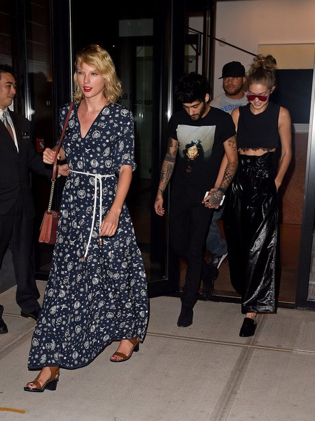 Taylor Swift Gigi Hadid and Zayn Malik
