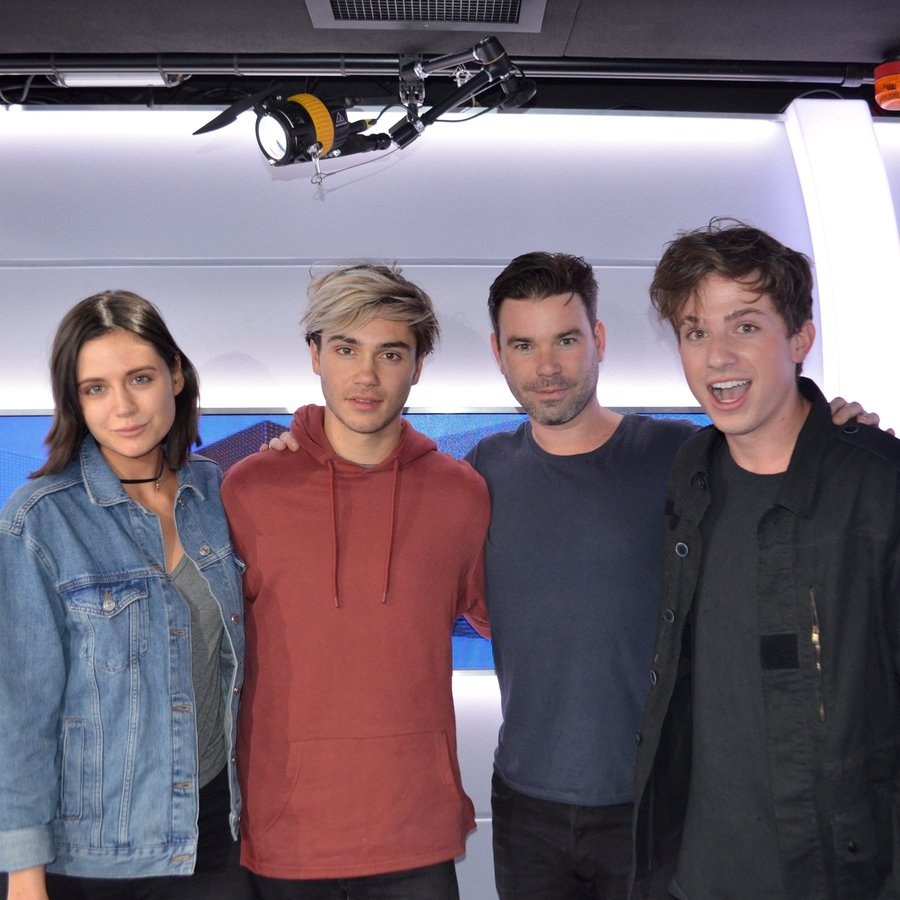 Charlie Puth with Dave Berry, George and Lilah