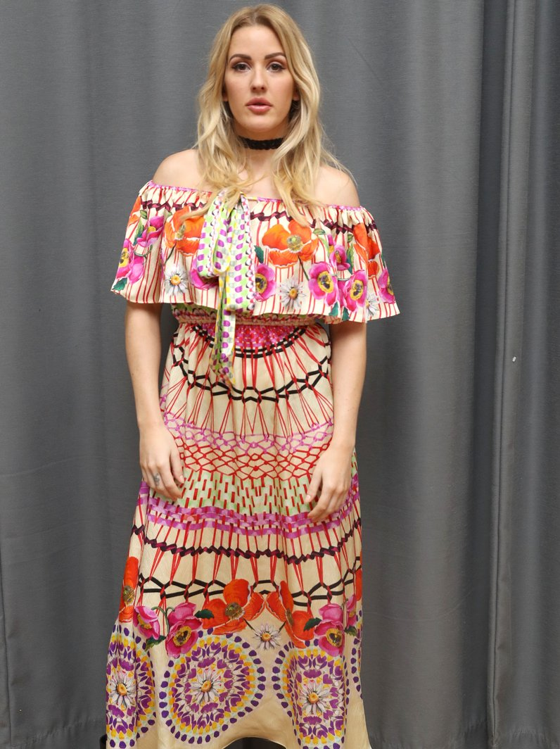 Ellie Goulding attends London Fashion Week Alice T