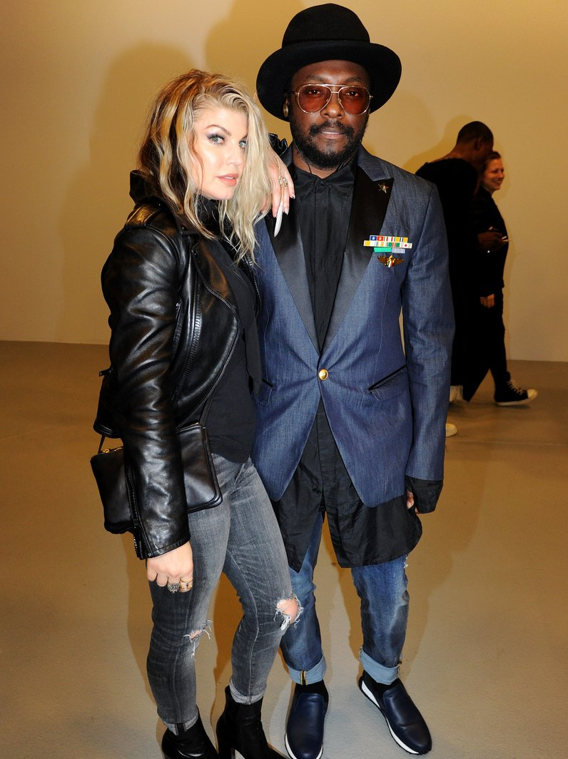 Fashion Week Fergie and Will.i.am