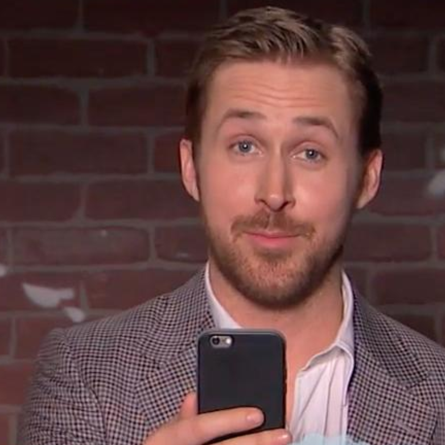Ryan Gosling Reads Mean Tweets