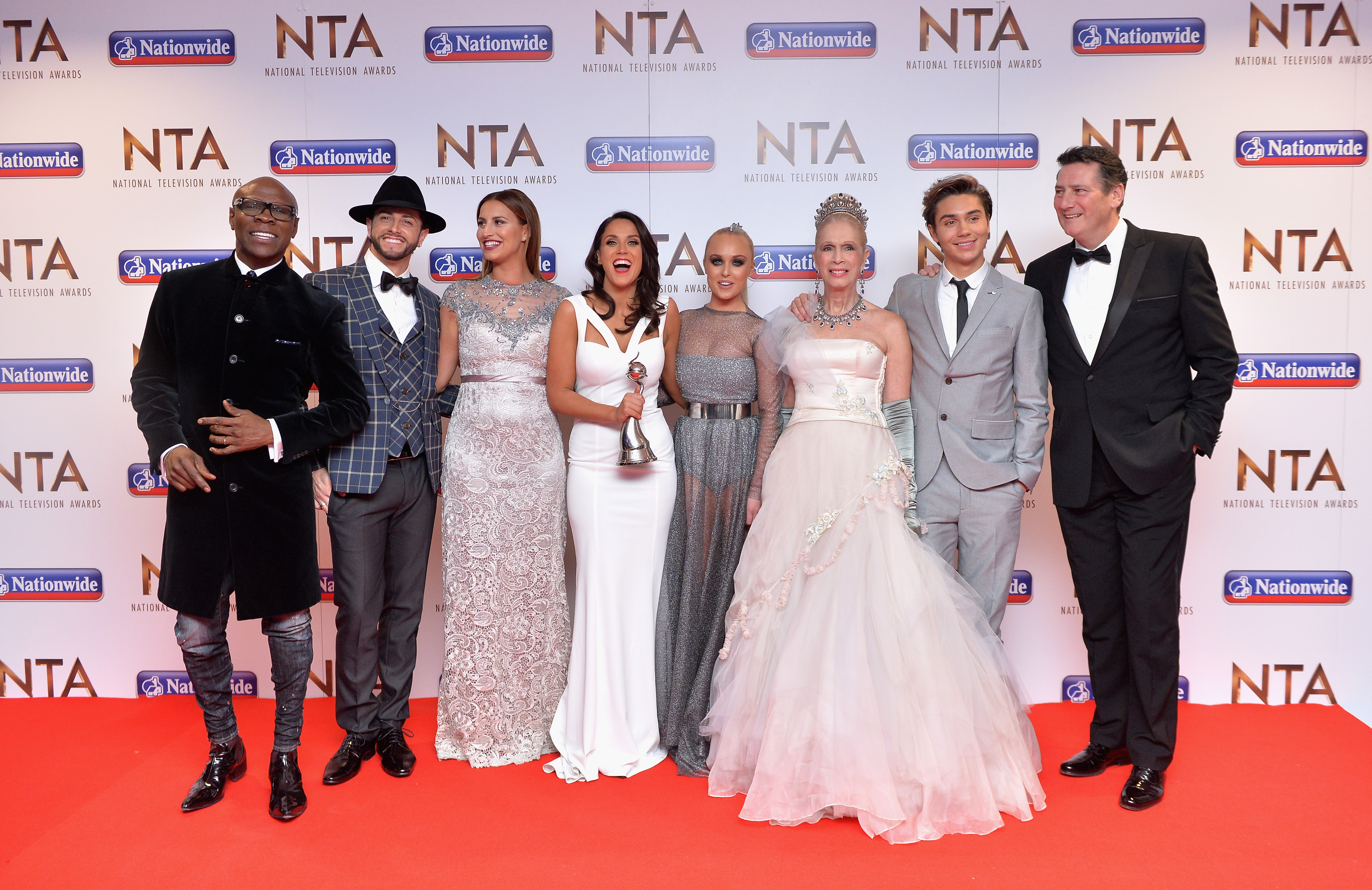 Vicky Pattison at the National Television Awards -