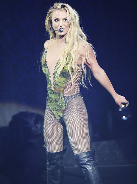 Britney Spears performs at iTunes festival in Lond