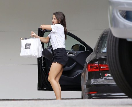 Danielle Campbell helps Louis move out of his hous