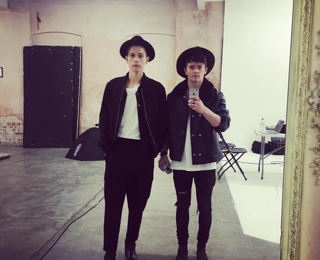 Fashion Moments 1st October James and Connor The V