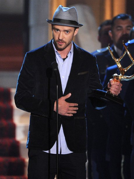 2012: There Was A Time When You Wouldnu0027t See Justin Timberlake Without A  Hat.