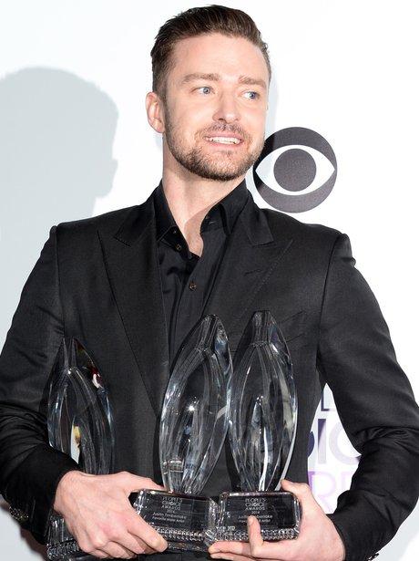 Justin Timberlake Hair Transformation