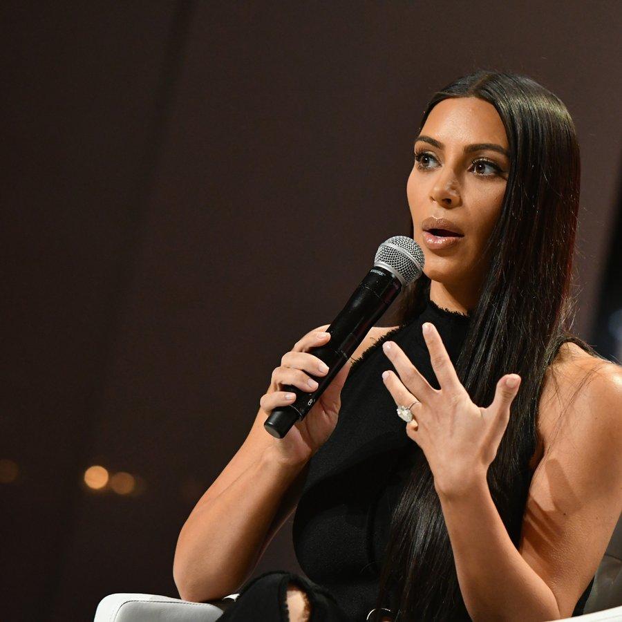 Kim Kardashian-West The Girls' Lounge Dinner At Advertising Week 2016