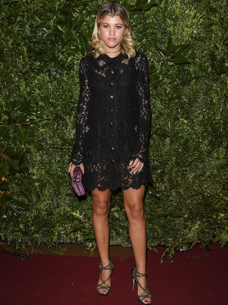 Sofia Richie at Dolce and Gabbana event
