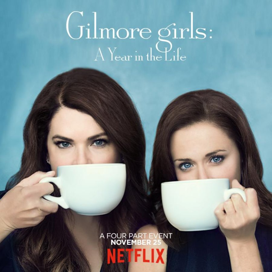 Something weird going on with the Gilmore Girls po