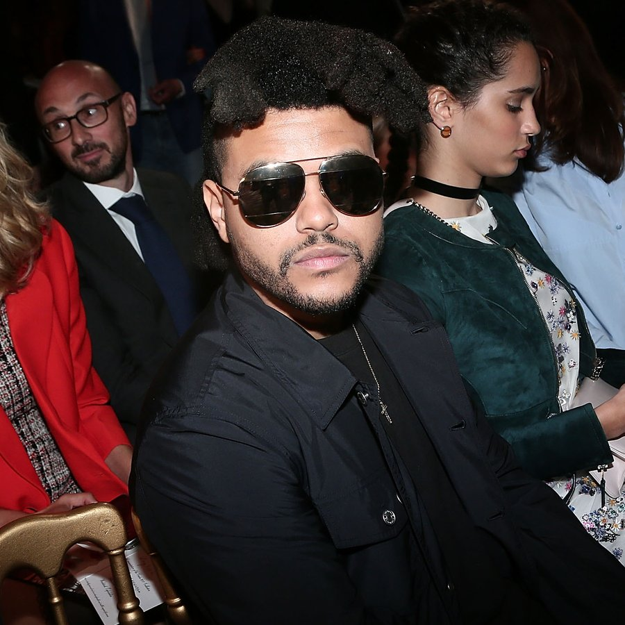 The Weeknd Front Row And Atmosphere - Dior Cruise Collection 2017
