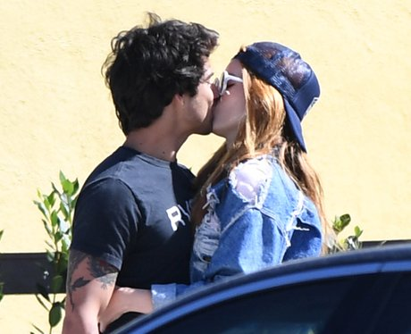 Bella Thorne and Tyler Posey spotted kissing