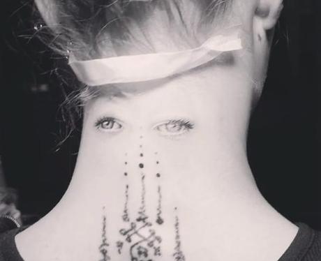 cara delevinge tattoo