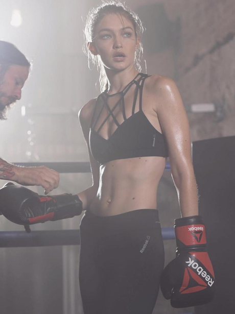 Gigi Hadid is the new face of Reebok