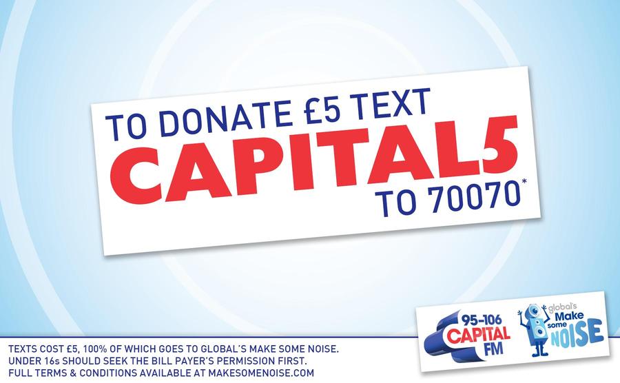 Donate £5 Now!