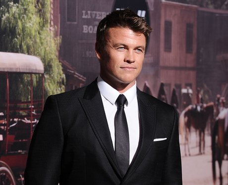 Good things come in threes! Luke Hemsworth makes a