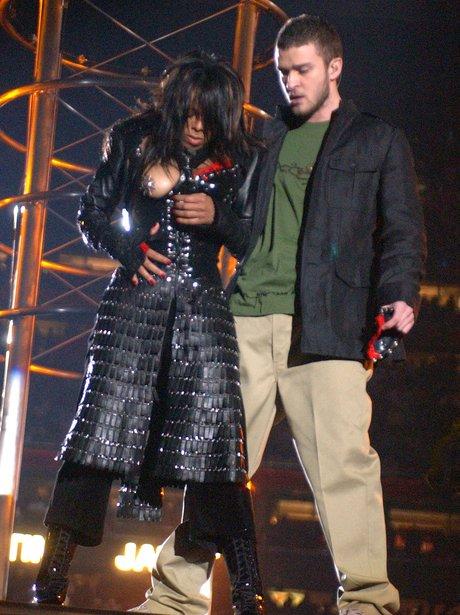 Justin Timberlake Janet Jackson 2004