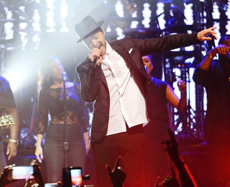 Justin Timberlake Up Close