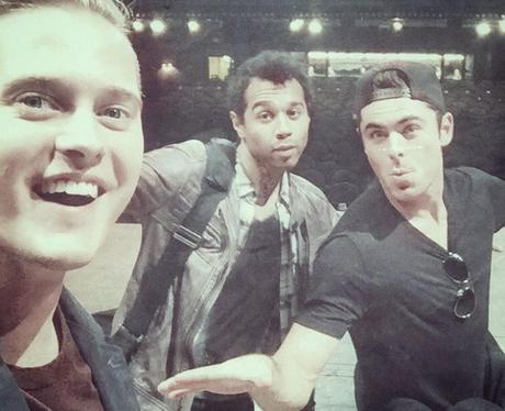 The High School Musical boys reunite